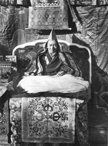 Tibetexpedition, Regent von Tibet