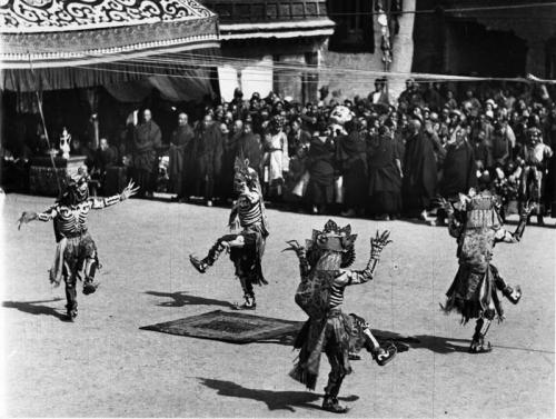 Tibetexpedition, Neujahrsfest im Potala