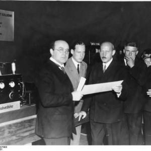 Berlin, Funkausstellung, v. Ardenne, Dr. Loewe