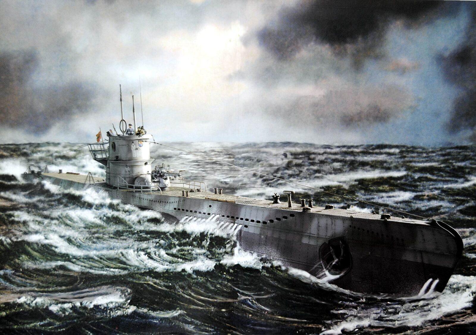 Type VII Подводные базы нацистов