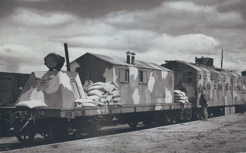 whiterussin9 Японский бронепоезд