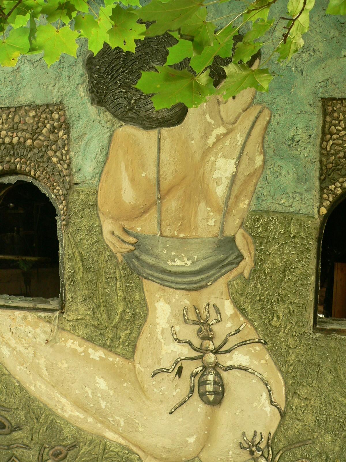 мистический дом под раковым
