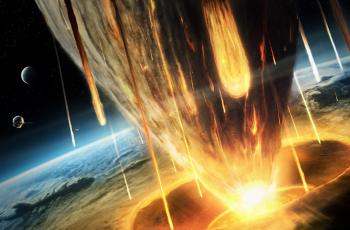 упадет астероид