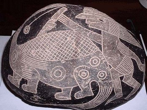 охота на динозавра камни Ика