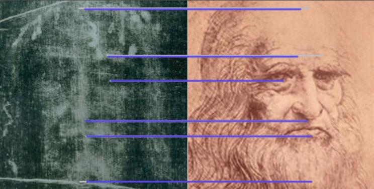Леонардо да Винчи автор плащеницы