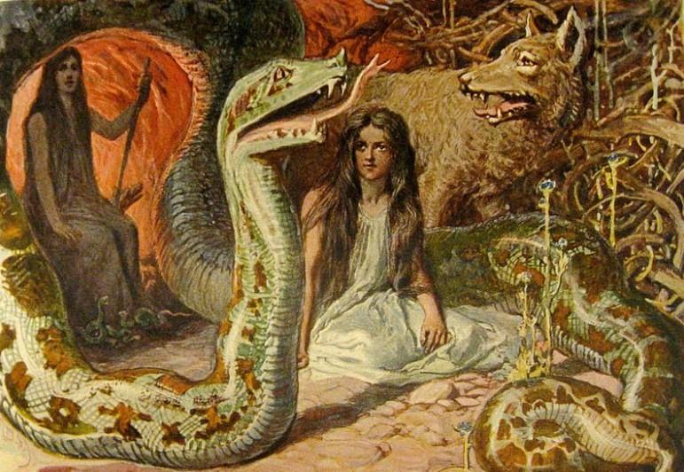Ангрбода скандинавская мифология