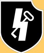 Эмблема с Зиг-руной и ключем