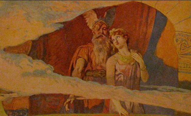 Фригг жена Одина. Рагнарек