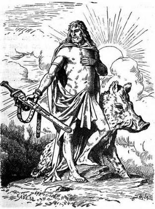 Фрейр скандинавская мифология