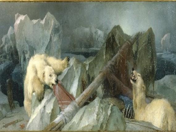 проклятые картины. пожирающие белые медведи