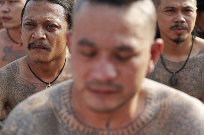 Фестиваль магических татуировок в Тайланде