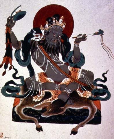 Центральное место в практике Чод занимает женское тантрическое божество, <strong>дакини Ваджрайогини</strong>, которая является объектом визуализации во время медитации.
