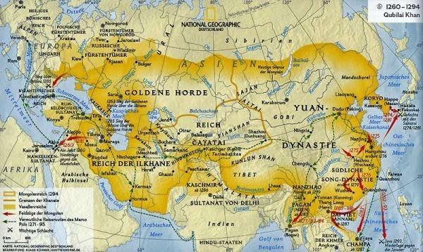 империя чингисхана