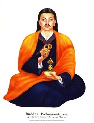 Падмасамбхава в Тибете