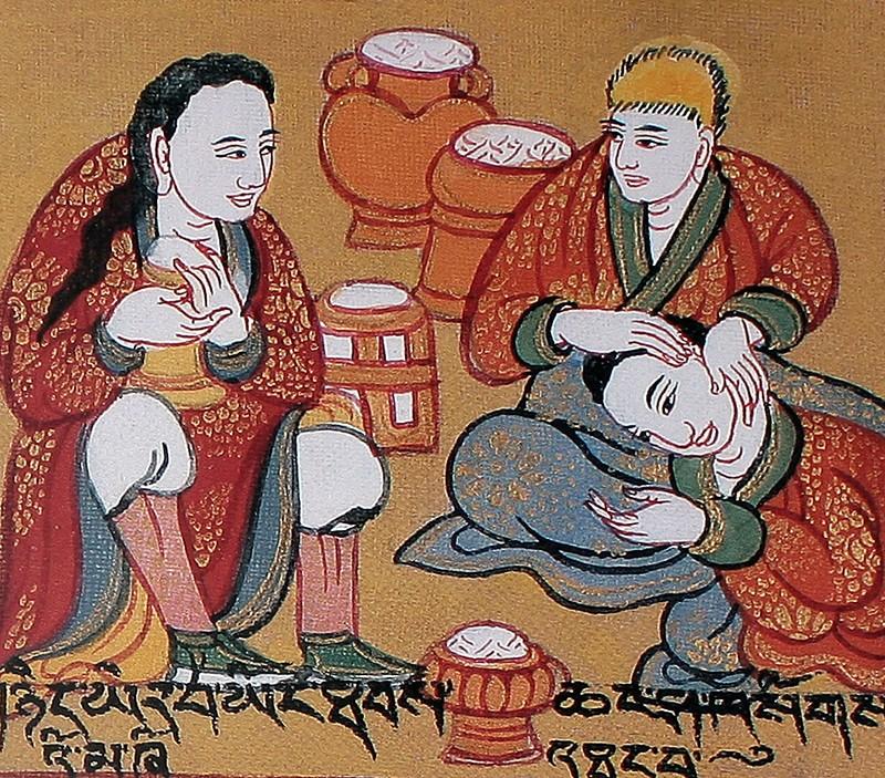 чай и тибетская медицина
